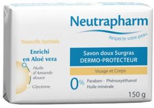 Neutrapharm Mandeloljetvål - Savon Doux Surgras Dermo Protecteur