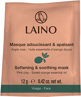 Laino Face softening and soothing mask Pink clay