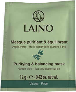 Laino Face purifying and balancing mask Green clay